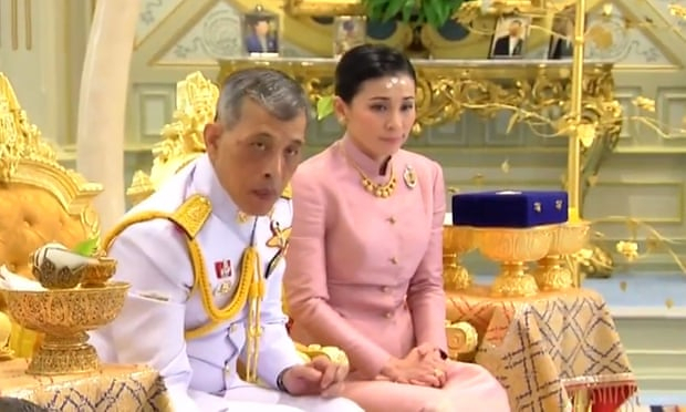 Thailand's King Maha Vajiralongkorn weds bodyguard in surprise ceremony
