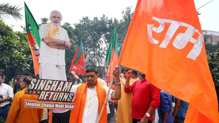 """El primer ministro indio logra una victoria electoral """"masiva"""""""