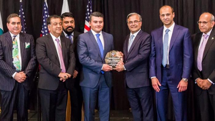 Azerbaijan's Consul General in Los Angeles awarded