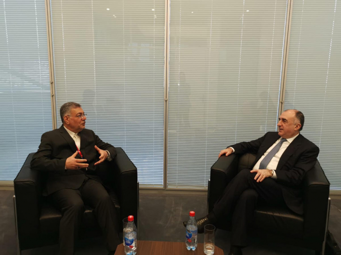 Mammadyarov meets with Secretary General of ECO