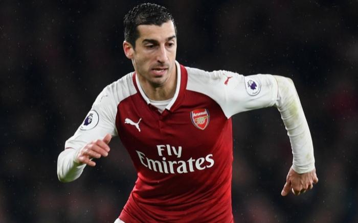 Arsenal omits Armenian midfielder Henrikh Mkhitaryan from Europa League final