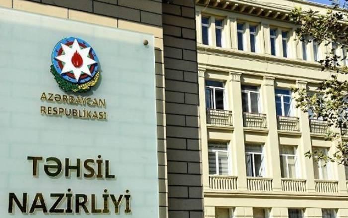 """Təhsil Nazirliyində """"Qaynar xətt"""" yaradıldı"""