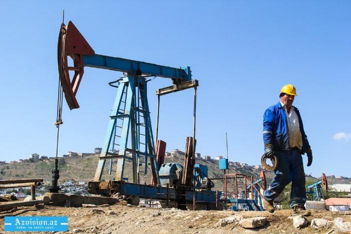 Apreldə sutkalıq neft hasilatı 683 min barrel olub