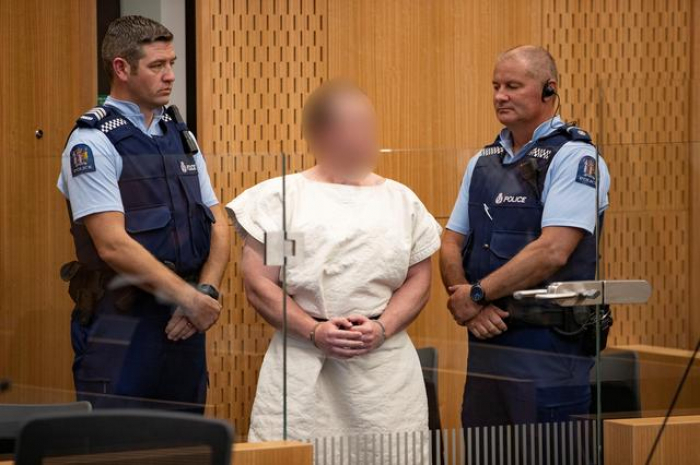 Man accused of murder in NZ shootings also charged with terrorist act