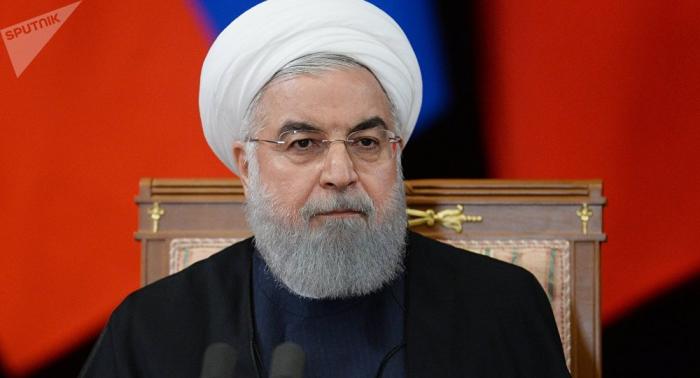روحاني يعلن أن إيران تتوقف عن بيع الماء الثقيل واليورانيوم المخصب