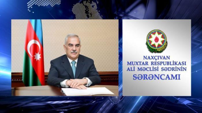 Naxçıvan Ali Məclisində müdir təyinatı