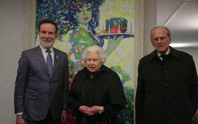 """""""كلغايي اذربيجاني وخيول كاراباخ"""" يعجب الملكة -  صور"""
