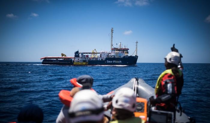 Migrants: La justice italienne ordonne la saisie d