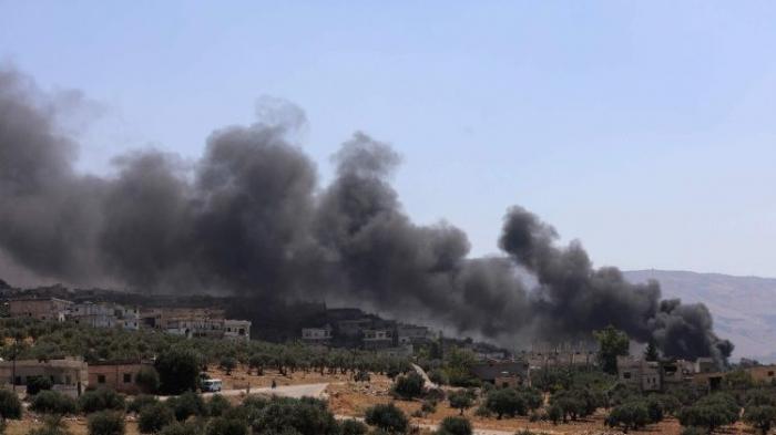 Syrie:   12 civils tués dans des frappes sur Idleb, selon une ONG