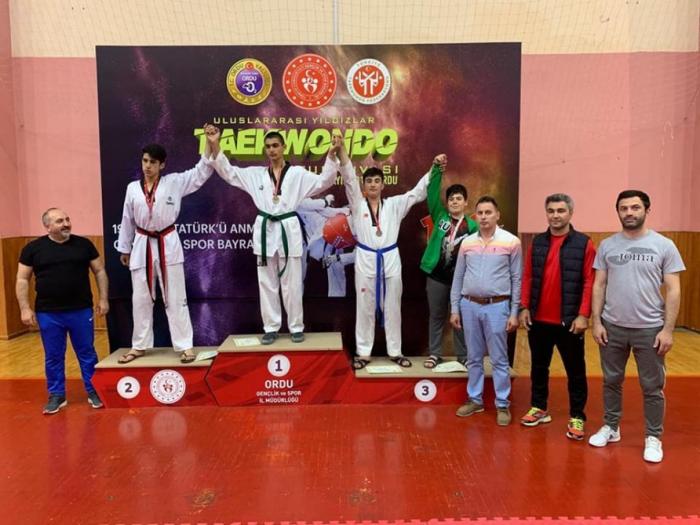 Azerbaiyán gana el torneo internacional de taekwondo en Turquía