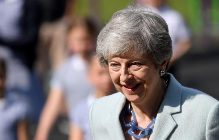 British PM May expected to announce date of her departure