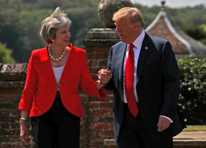 Donald Trump in the UK - Brexit, Huawei and banquet with the queen