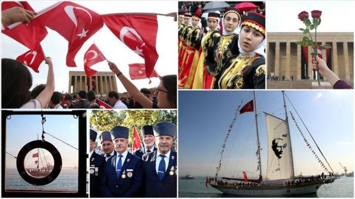 Le 19 mai, la Turquie célèbre le sport, la jeunesse et Ataturk