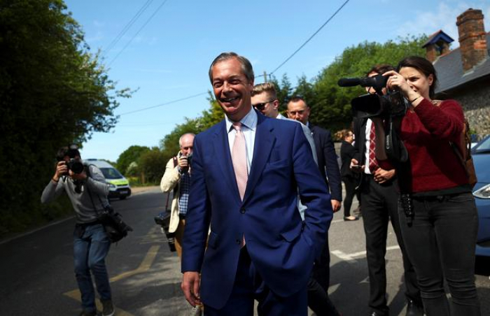 UK ever more polarized as Brexit Party storms to EU vote win