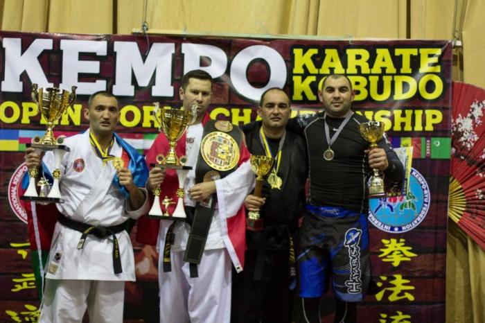 Azərbaycanlı diaspora sədri dünya çempionu oldu