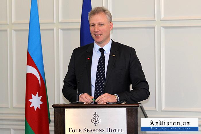 """سفير الاتحاد الأوروبي:  """"الاتفاق المزمع توقيعه مع أذربيجان سيفتح فرصا جديدة"""""""