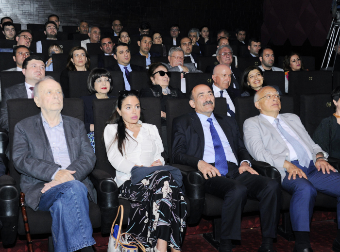 """Vice-President of the Heydar Aliyev Foundation attends presentation of """"My little prince"""" animated film"""