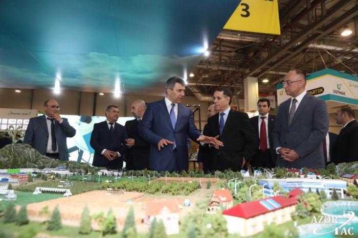 Prime Minister viewsAzerbaijan International Agriculture exhibitions at Baku Expo Center-  PHOTOS