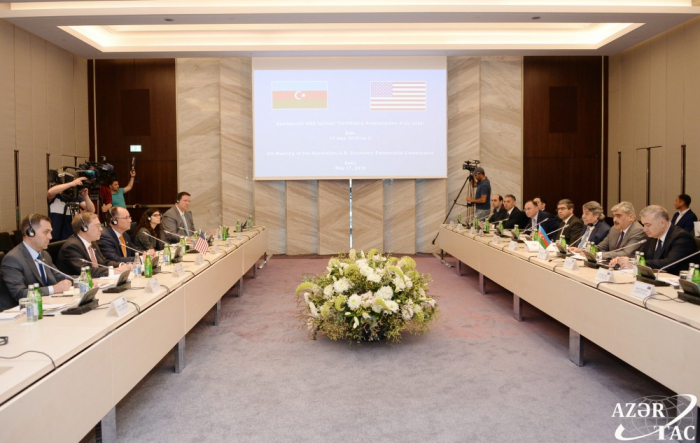 Comienza en Bakú la IV reunión de la Comisión de Asociación Económica Azerbaiyán-Estados Unidos