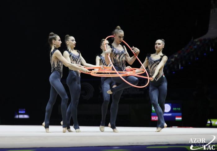 Equipo de Azerbaiyán pasa a la final del Campeonato Europeo de Gimnasia Rítmica