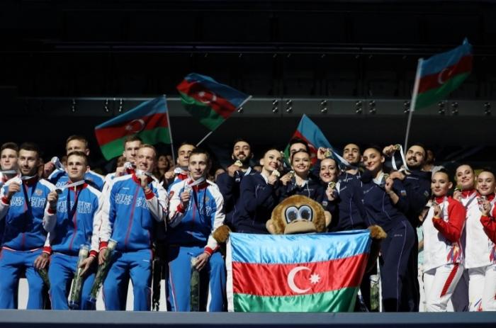 Gimnastlarımız Avropa çempionu oldular