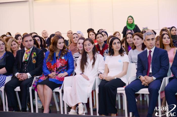 Leyla Əliyeva Autizm Mədəniyyət Festivalında - FOTO