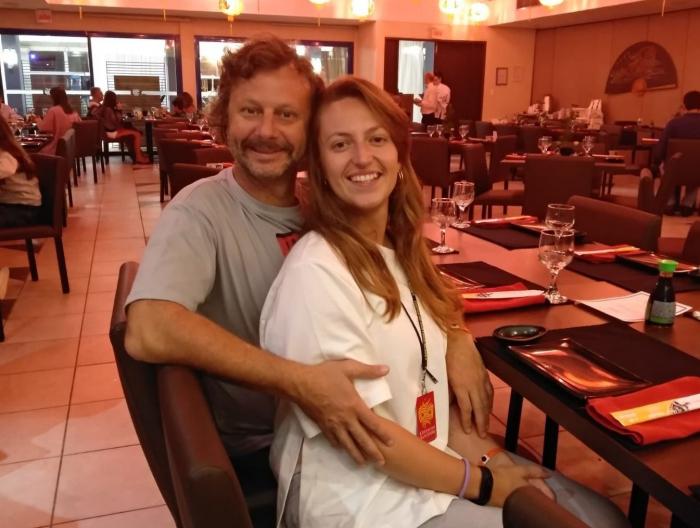 La increíble historia de amor de una bielorrusa y un uruguayo