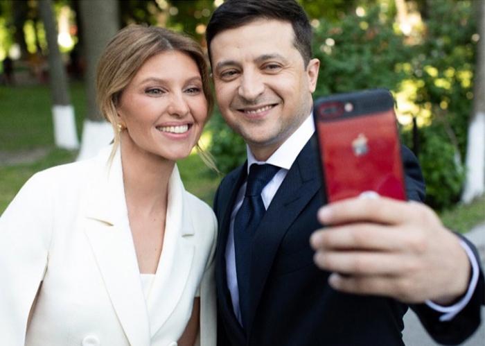 Ukraynanın ən gənc birinci xanımı - FOTOLAR