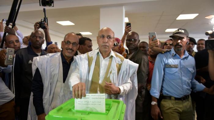Mauritanie : El-Ghazouani élu président avec 52% des voix