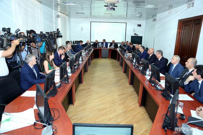 La commission mixte sur la démarcation de la frontière russo-azerbaïdjanaise tient saréunion à Bakou