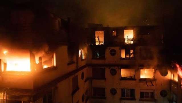 Incendio en hospital psiquiátrico deja seis fallecidos en Ucrania
