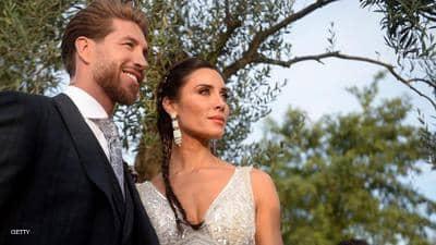 زفاف المشاهير لراموس وروبيو.. ونجمان غائبان