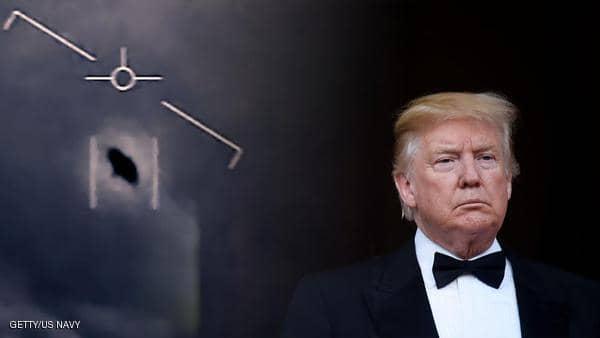 """أبلغوه عن رصد """"أطباق طائرة"""".. فما رأي ترامب؟"""
