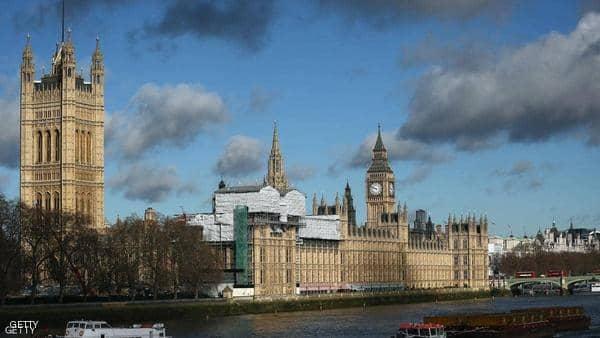 إخلاء مؤقت للبرلمان البريطاني بسبب إنذار حريق