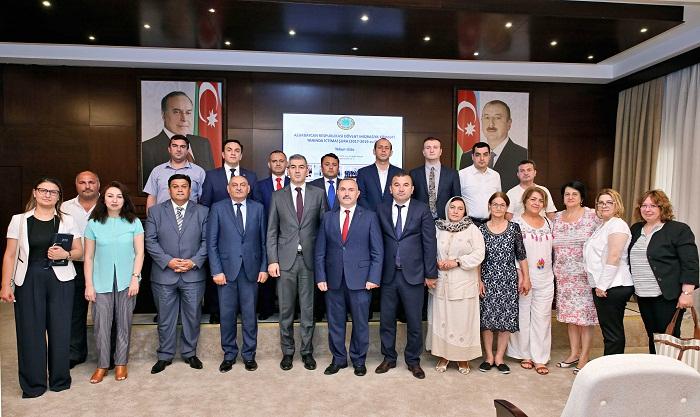 DMX yanında İctimai Şuranın üzvləri təltif edilib - Fotolar