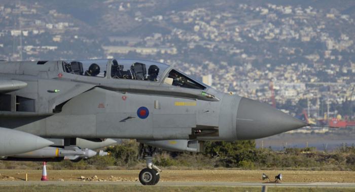 """إف 35 """"البريطانية"""" تنفذ مهمتها الأولى فوق دولتين عربيتين"""