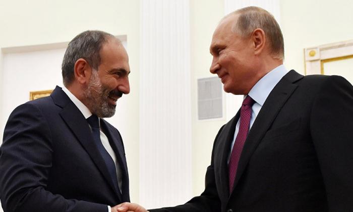 Paşinyan Putindən yeni silahlar istəyib