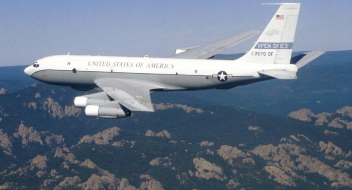 طائرة استطلاع أمريكية تحلق على حدود منطقة كالينينغراد الروسية