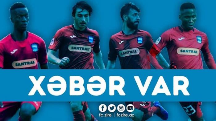 """""""Zirə"""" 4 futbolçu ilə müqaviləni yenilədi"""