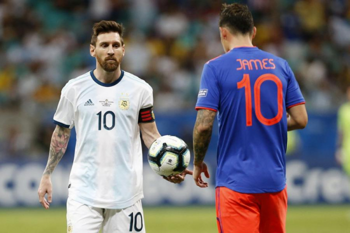 Argentina Kolumbiyaya uduzdu - VİDEO