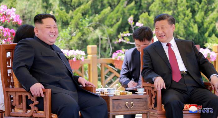 الرئيس الصيني يزور كوريا الشمالية الخميس