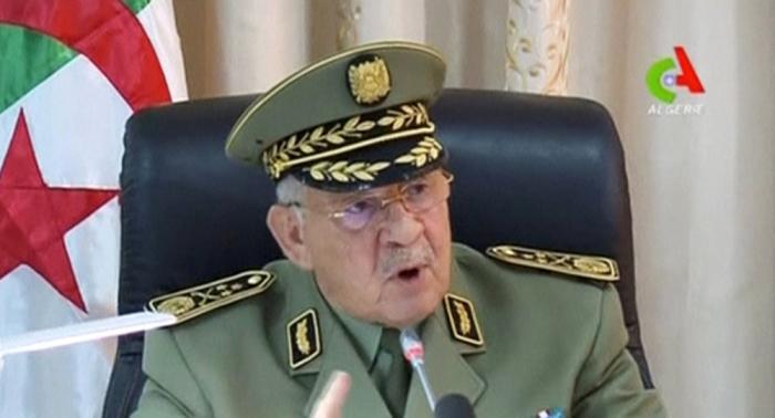 رئيس الأركان الجزائري يخبر الشعب بمكان وجود مفاتيح الأزمة الحالية