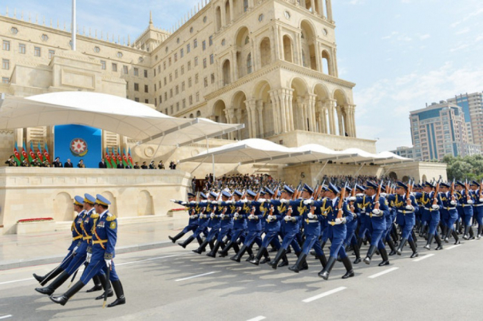 L'Azerbaïdjan célèbre la Journée des forces arméesazerbaïdjanaises