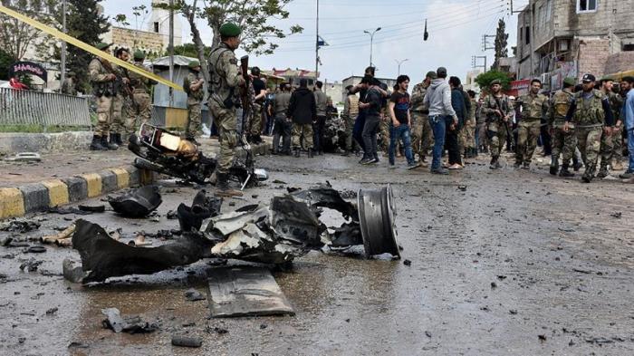 Türkiyə ilə sərhəddə partlayış - 14 ölü, 28 yaralı