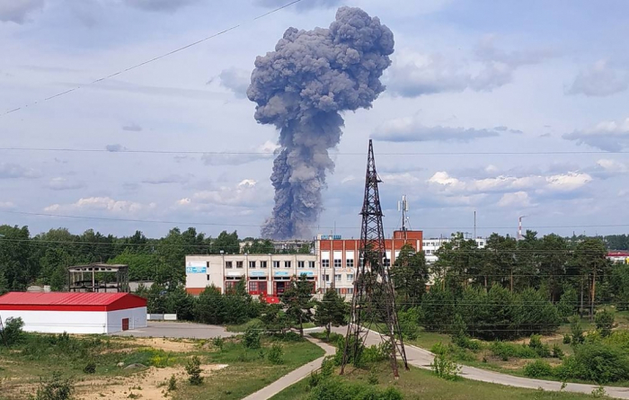 Rusiyada partlayış olub, 39 nəfər yaralanıb