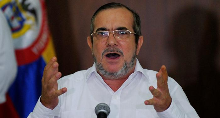 Máximo líder de FARC se disculpa ante España por seguidor de Santrich con camiseta de ETA
