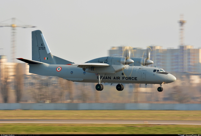 Indian Air Force An-32 transport plane missing after taking off from Assam