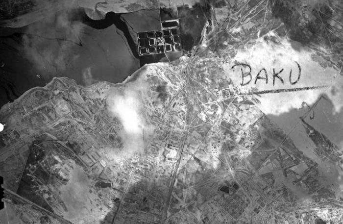 Geheimnisse von Baku (TEIL 1)- Deutsche Luftaufnahme von Baku in den Jahren  1942-1943 (FOTOS)