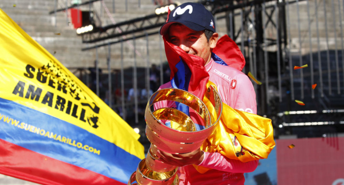 Gran día para Ecuador:   dos ciclistas ecuatorianos conquistan Europa