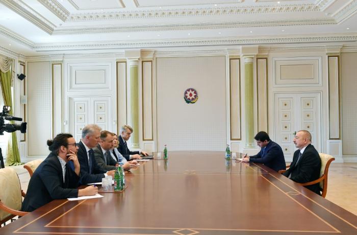 President Ilham Aliyev receives EU Special Representative